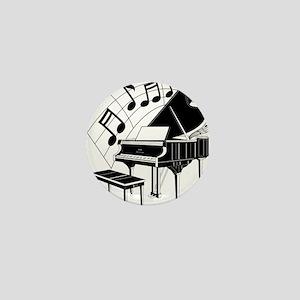 PianoNotes10x10 Mini Button