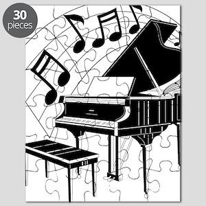 PianoNotes10x10 Puzzle