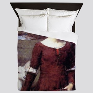 The Lady Clare Queen Duvet