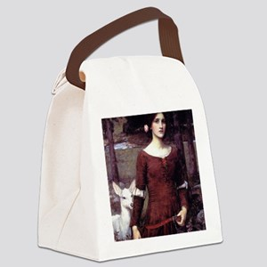 The Lady Clare Canvas Lunch Bag
