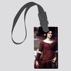 The Lady Clare Large Luggage Tag