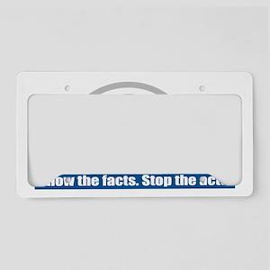 PA-crime License Plate Holder
