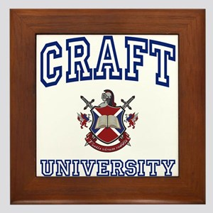 CRAFT University Framed Tile