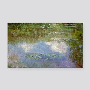 Water Lilies (The Clouds) Rectangle Car Magnet