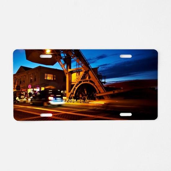 Mystic-Bridge-CT Aluminum License Plate