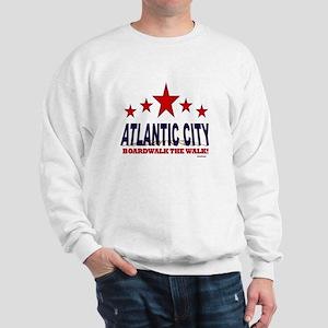 Atlantic City Boardwalk The Walk Sweatshirt