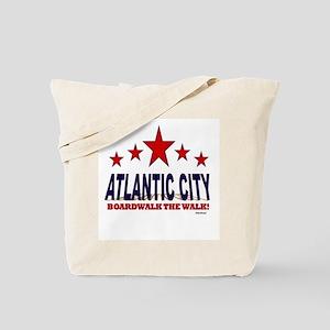 Atlantic City Boardwalk The Walk Tote Bag