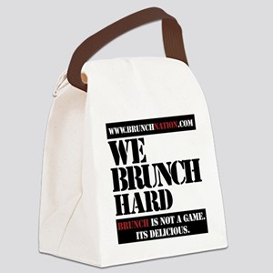 brunchnation Canvas Lunch Bag