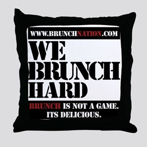brunchnation Throw Pillow