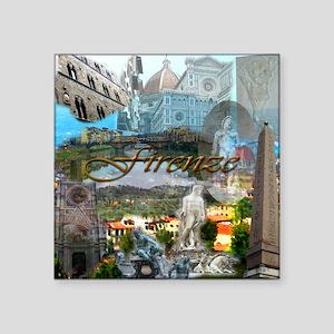 """florence15btc- Square Sticker 3"""" x 3"""""""