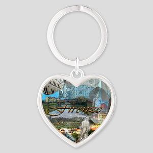 florence15btc- Heart Keychain