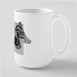 Doberman Large Mug