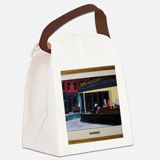 Nightbirds Canvas Lunch Bag