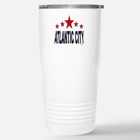 Atlantic City Stainless Steel Travel Mug