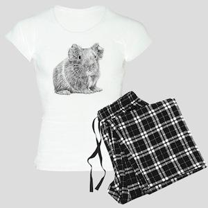 Guinea Pig / Cavy Pencil Women's Light Pajamas