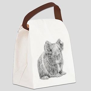 Guinea Pig / Cavy Pencil Canvas Lunch Bag