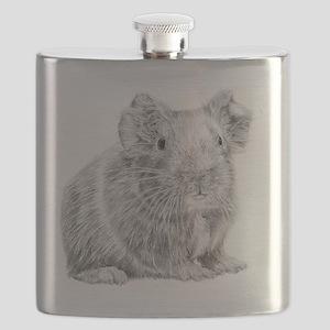 Guinea Pig / Cavy Pencil Flask