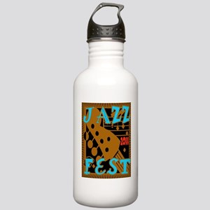 JazzFest2011Guitar Stainless Water Bottle 1.0L