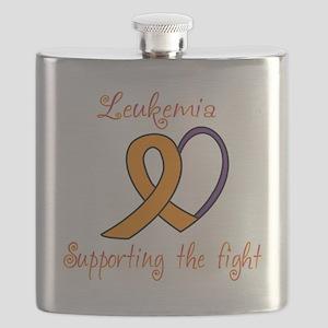 Leukemia Support Fight Flask
