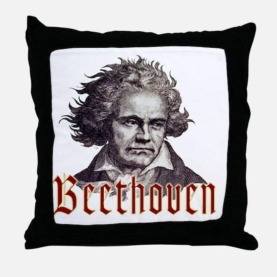 Beethoven-1 Throw Pillow