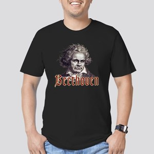 Beethoven-1 Men's Fitted T-Shirt (dark)