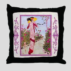 IPAD 4 APRIL GDBT-ROSE Throw Pillow