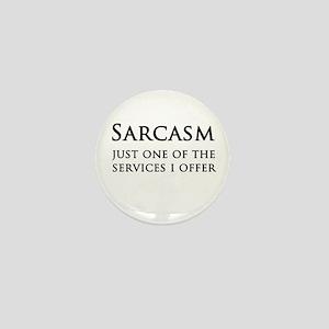 Sarcasm Mini Button