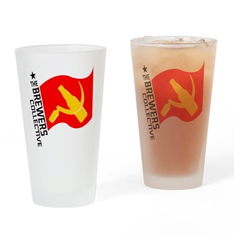 BC_Logo Drinking Glass