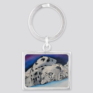 snowleopard Landscape Keychain