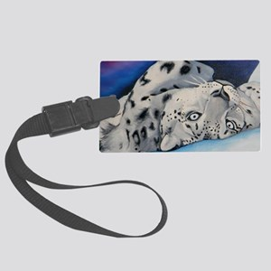 snowleopard Large Luggage Tag