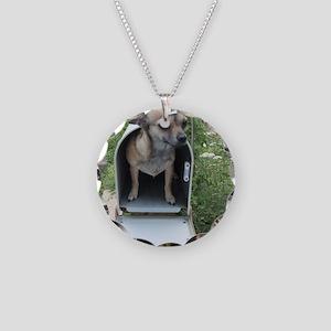 MAILMAN Necklace Circle Charm