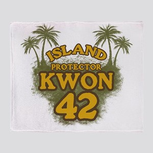 3-kwon42_green Throw Blanket