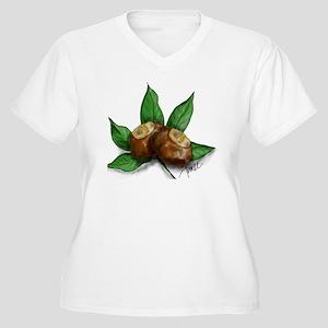 buckeyeclub3 Women's Plus Size V-Neck T-Shirt