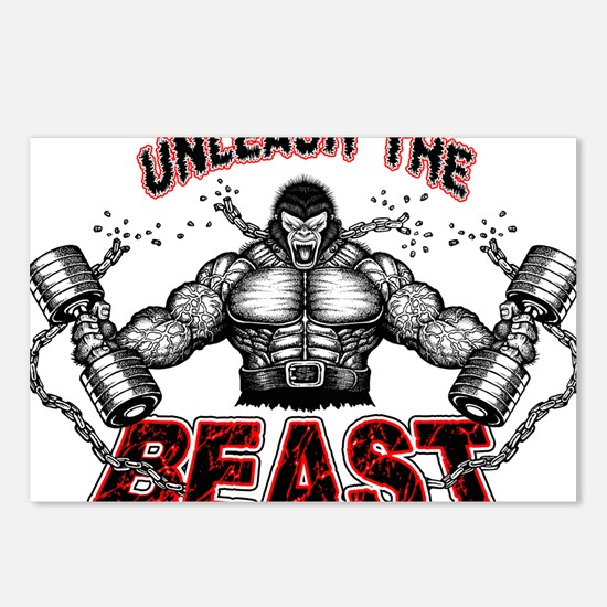 Unleash The Beast Postcards (Package of 8)