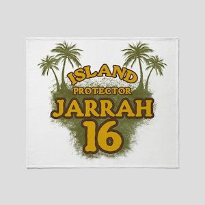 2-jarrah16_green Throw Blanket