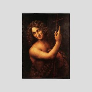 St John the Baptist 5'x7'Area Rug