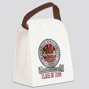 winston-university-logo2 Canvas Lunch Bag