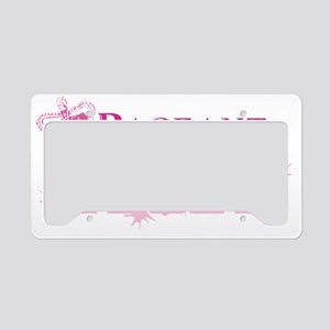 Pageant_mom License Plate Holder