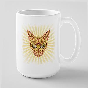 Cool Egyptian style mystic cat Mugs