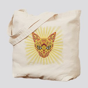 Cool Egyptian style mystic cat Tote Bag