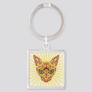 Cool Egyptian style mystic cat Keychains