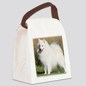 Japanese Spitz 9Y576D-261 Canvas Lunch Bag