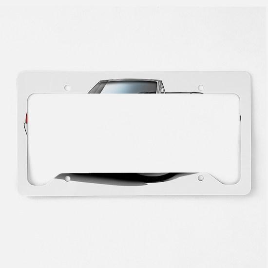 1966 Olds Cutlass Red Convert License Plate Holder