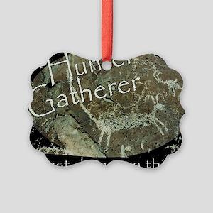 Hunter Gatherer Rock Art Picture Ornament