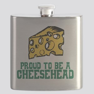 Cheesehead Flask
