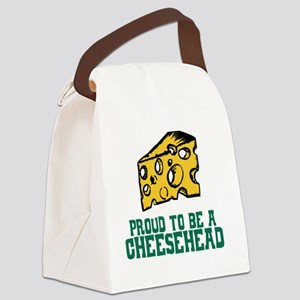 Cheesehead Canvas Lunch Bag