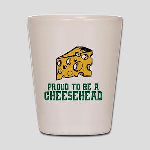 Cheesehead Shot Glass