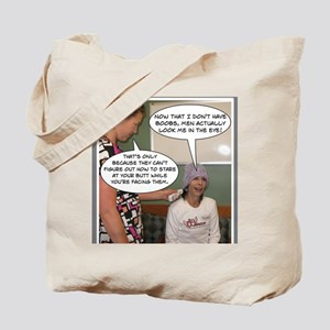 2-Point Of View Tote Bag
