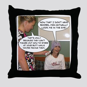 2-Point Of View Throw Pillow
