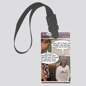 2-Point Of View Large Luggage Tag